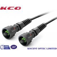 ODVA MPO/APC G652D Water Proof Optic Fiber Patch Cable for FTTA CPRI RRU LTE
