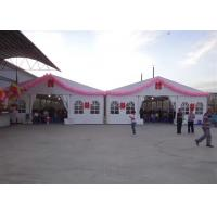 China 800 People Luxury Wedding Tents Waterproof PVC Catering For Wedding / Party on sale