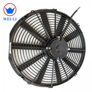 China 16 Inch DC Brushed 12 Volt Cooling Fan , 2700RPM 12v DC Fan With Custom Logo on sale