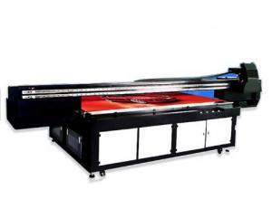 China Professional Wide Format Flatbed Printer , High End Wide Format Uv Printer on sale
