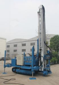 China 7000 MM Stroke Anchor Drilling Machine 25 T Pull Capacity 1.5 Ton Winch on sale