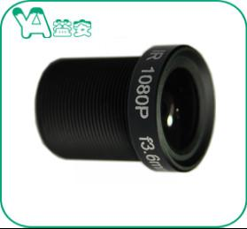China Wide Angle Lens CCTV Security Camera Lens 1/2.7 3Mp 3.6mm MTV Mount on sale
