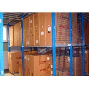 China Hot Dip Galvanized Steel Automotive Rack With Multi Layer Mezznanine Floor on sale
