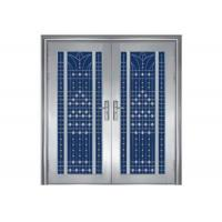 China Three Dimensional Residential Steel Security Doors With An Anti Theft Lock on sale