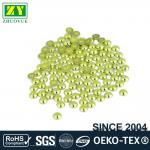 High Color Accuracy Flat Back Metal Studs Good Stickiness With Even Shinning Facets