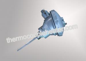 China Resistance Temperature Detector RTD PT100 Temperature Sensor with head on sale