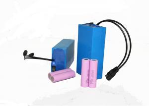 China Blue Lihtium Rechargeable Battery Pack 12V 12Ah For Solar Street Light on sale