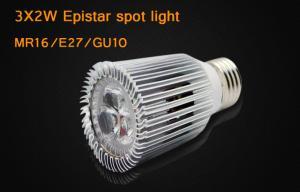 China LED Spot light Bulbs With Elegant Surface , Warm White gu10 led light bulbs on sale