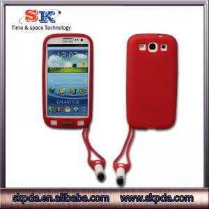 China mobile phone cases tpu phone accessories with sling case for samsung galaxy s3(i9300) on sale