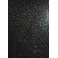 Absolute / Shanxi Black Polished Granite Tiles Pure Black Shiny 3.04g / Cm³ Density