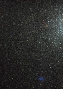 China Absolute / Shanxi Black Polished Granite Tiles Pure Black Shiny 3.04g / Cm³ Density on sale