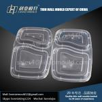 two compartment lunch lid mould