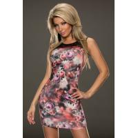 Rose Print Dress Suknelė Romena