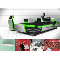 High Precision CNC Laser Metal Plate Cutting Machine For Stainless Steel