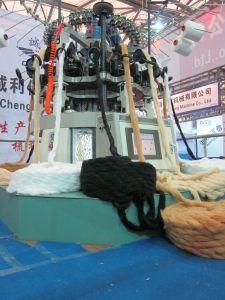 China Color llano circular automatizado piel falsa de la máquina para hacer punto (CLJ) on sale