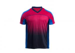 China 100% Polyester Wicking Custom Soccer Jerseys Sublimation Printing For Adults on sale