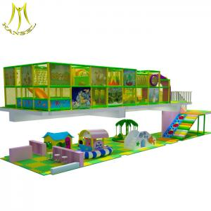 China Hansel  children playground equipment kids playhouse castle colorful baby indoor play electronic softplay on sale
