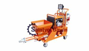 China N2 mini semi-automatic mortar spraying machine on sale