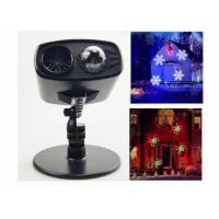 Home Outdoor LED Holiday Projector , 220v 9W Snow / Water Ripple Xmas Light Projector