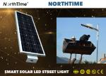 High Brightness 7 Rainy Day Solar Powered LED Street Lights With 120° Beam Angle For Courtyard
