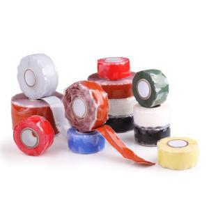 China Silicone Rubber Self Fusing Tape Rescue Bonding  Waterproof Silicone Repair Tape on sale