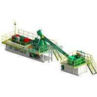 Water - Based Drilling Mud System with 2 Screw Pumps Electric Control