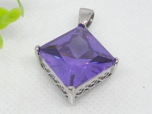 China semi precious stone pendant 1240025 on sale