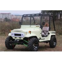 China Fully Automatic Air Cooled Adult Mini Jeep Willys With 250cc / 300CC GY6 Engine on sale