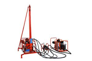China Light weight portable mountain geophysical exploration drill rig on sale
