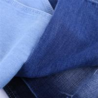 China Cotton poly denim cloth,raw denim fabric jeans material on sale