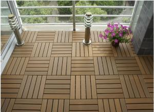 ... Quality PS Plastic Wood Outdoor Deck Tiles With  Splitting/flaking/warping/rot/ ...