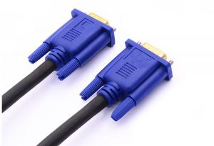 China Popular Black 4.5 MM 15pin ROHS VGA cable 1.5m2m3m Male To Male Cable for computer on sale