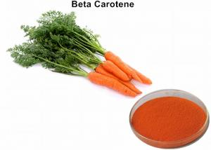 China Carrot Extract Vegetable Based Food Coloring, 10% Beta Carotene Organic Food Coloring Powder on sale