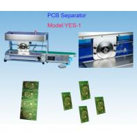Double Side PCB Depaneling Tool 4.0mm Thick With Electronic Eye Safe Sensor