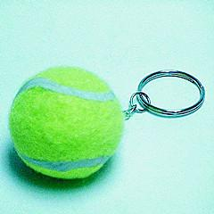 China Gift sending tennis ball keychain ,promotional item on sale
