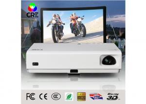 China 3D LED DLP Home Theater Projector , Portable Education Projector 3000 Lumens on sale