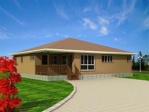 China Prefab villa Energy conservation, Environmental protection and Easy assembled Villa on sale
