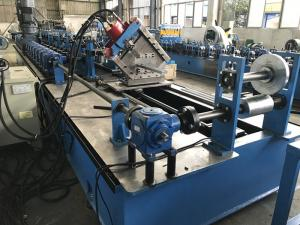 China High Speed C Purlin Roll Forming Machine 75kw 70mm soild shaft on sale