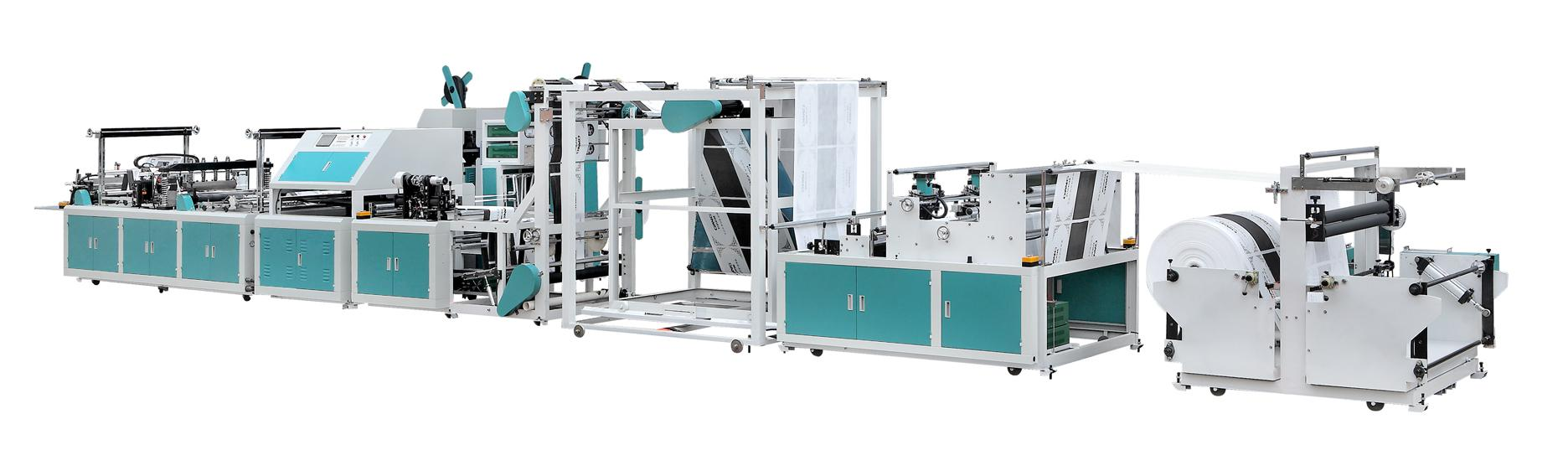Pp Automatic Non Woven Bag Making Machines Carry Bag Machine For