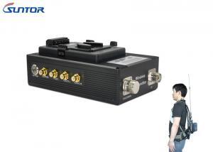 China SD COFDM Wireless Mini Video Transmitter Receiver 2W Military Body Worn on sale