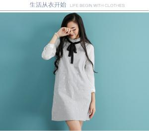 China fashion high collar  chiffon shirt with cotton shoulder-straps on sale