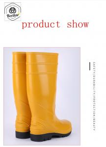 China Seamless Rain Non Slip Sole Beekeeping Boots on sale