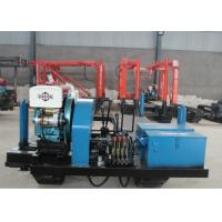 Crawler DTH Water Well Drilling Machine / Rock Drilling Rig With 300m Drilling Depth