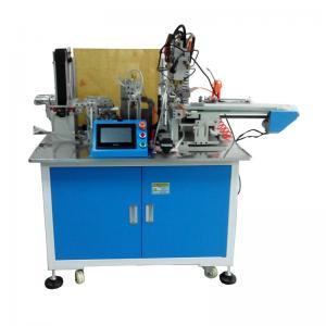 China 7 shape automatic spot welding machine for battery ,  L shape  battery spot welding on sale