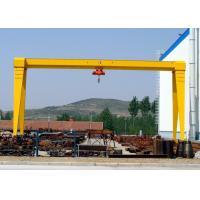 MH A Frame Single Beam 5 Ton Mobile Gantry Crane for Goods Yard , Marble , Granite Stone