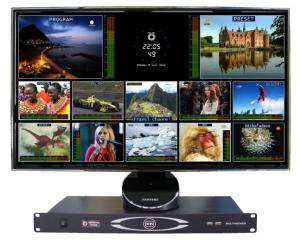 China Optimum Vision Standard-definition (SD) digital video / audio multiviewer on sale