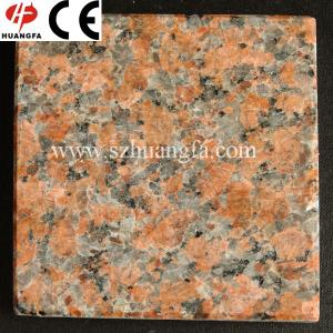 China Natural stone granite tiles with different sizes on sale