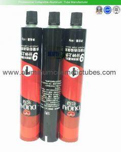 China Shampoo Aluminum Tubes Packaging , High End Cosmetic Tube Packaging Non Spill on sale