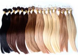 China Double Wefted 100 Virgin Human Hair Extensions No Shedding No Chemical coloured hair extensions on sale