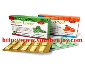 China Super Lover sex gum for perfect sexual life on sale